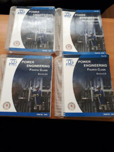 Power Engineer 4th class textbooks