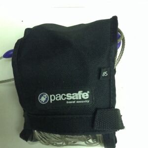 85 litre pacsafe travel security. Stops backpack slash and grab