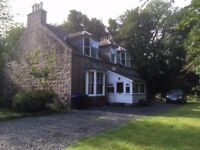 Detached 4 bed, 2 bath house to rent just outside Rhynie