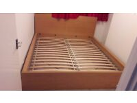 King size bed FRAME only.