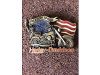 Harley Davidson belt buckle official