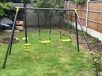 Outdoor Swing Set - 3 Functions