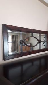 Decor  Rustic  Tin Mirror