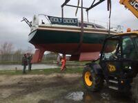Leisure 23 SL Sailing Boat - Volvo Penta - Full Set Of Sails - Norfolk Broads