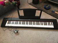 Yamaha Piaggero NP-31 Piano/keyboard with carry case/bag