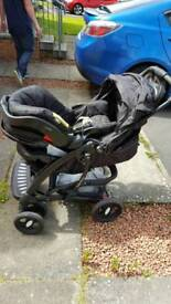 Mothercare 3 way travel system pram