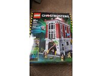 Lego ghostbusters headquarters.