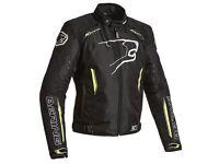 New Bering Eskadrille Motorcycle Jacket Black/Flo = £199.99