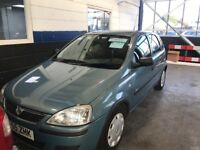 2006 55 Vauxhall Corsa 1.2 Manual Petrol 5 Door Hatchback, Service History Only £890