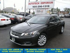2013 Honda Accord EX-L (CVT) Leather/Sunroof/Camera &ABS*