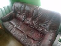 last chans to have 3 seater leather sofa bed