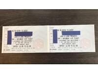 2xVIP Tickets SW4 Festival for 26thAugusy3017