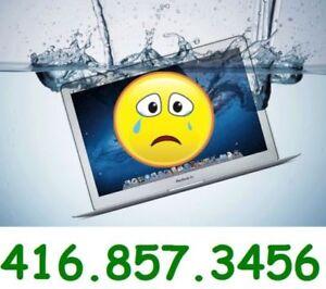 Laptop Liquid Damaged Repair+ PC  Laptop Liquid damaged repair!