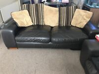 FREE 2 big leather couches