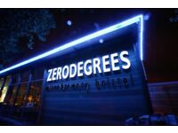 Kitchen Porter opportunities at Zerodegrees