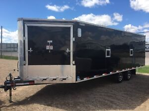 2017 Heated enclosed trailer