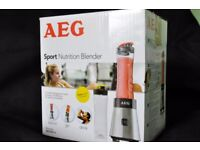 AEG Sport Nutrition Blender - New and unused. Box opened.