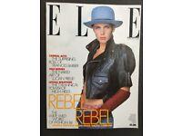 Elle magazine, February 1988