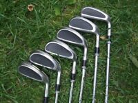 Cleveland 588 Altitude Steel Shafted Irons Reg flex 5 to PW .