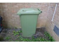 For sale Wheelie Bin 240L Standard Household Bin
