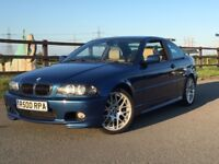 BMW E46 330ci sport (manual) Topaz blue