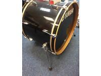 Yamaha Raven Black Bass Drum