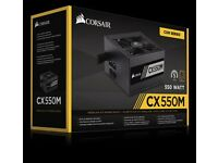 *New Unused* Corsiar CX550M Semi Modular, 550Watt