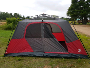 8 person easy up tent