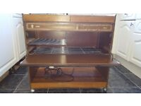 Hostess type Heated food trolley - Used in good working order