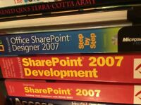SharePoint 2007 books free to good home before in the recycle bin