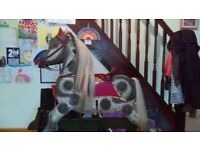 Traditional/antique-looking rocking horse