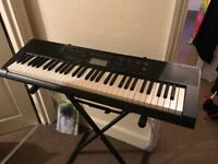 Casio CTK-2300 Full size Keyboard With Stand, Music Holder And Song Book