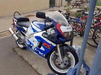 Motorbike, Suzuki GSXR 600 SRAD