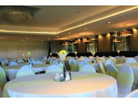 Hire of Wedding Chair Cover & Sashes,Starlit backdrop, Candy Cart, Centrepieces , and more