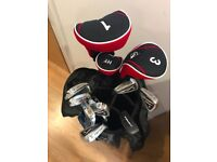 Brand new LEFT handed male Dunlop Sport golf set, only used 3 times, in very good condition!