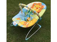 Baby rocker bouncer bed mobile