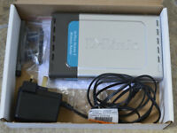 D-Link Wireless Router model DI-624