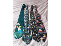 The Simpsons ties x 4