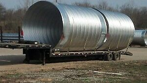 WANTED - 6.5 foot - 8 foot diameter x 20' long steel culvert
