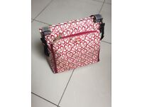 Pacapod Jura baby Changing bag (Cranberry)- excellent condition(collection only)