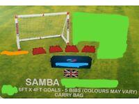 Football goal samba,new,garden patio.