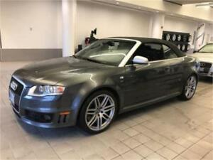 2008 Audi RS 4 CABRIOLET VERY RARE AND HARD TO FIND!