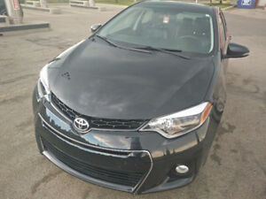 2015 Toyota Corolla S Trim, Low KM, Bluetooth, Winter Tires/Rims