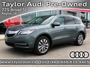 2014 Acura MDX Navigation Package 7 PASSENGER, NAV, REARVIEW...
