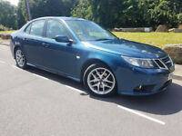 SAAB 9-3 VECTOR SPORT TID 1.9 DIESEL ,57 REG 2007,*FVSH*,6SPEED,,LEATHER,(not ford/vw)