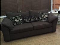 Next three seater sofa / settee