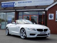 BMW Z4 2.0 Z4 SDRIVE18I M SPORT ROADSTER (155) * Red Leat (white) 2013