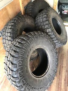 """Dick Cepek 35"""" tires"""
