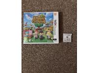 Animal crossing 3ds & sim3 pets