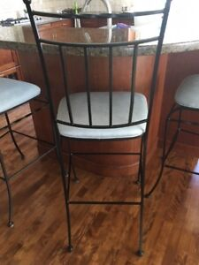 Bar Stools - Set of 3 - PERFECT CONDITION - MUST SELL!